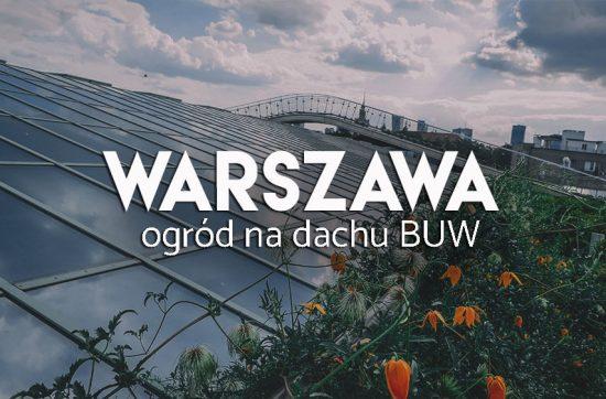 Atrakcje Warszawy - Dach BUW