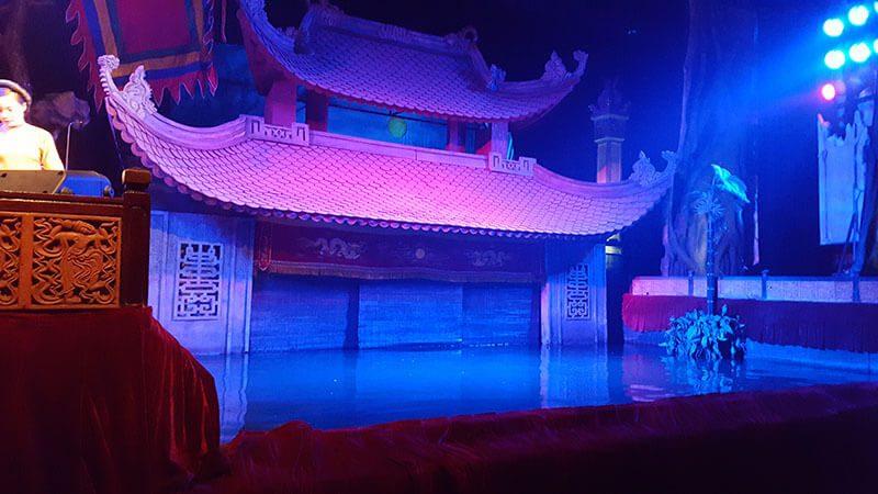 Wodny Teatr Lalek - Hanoi Wietnam