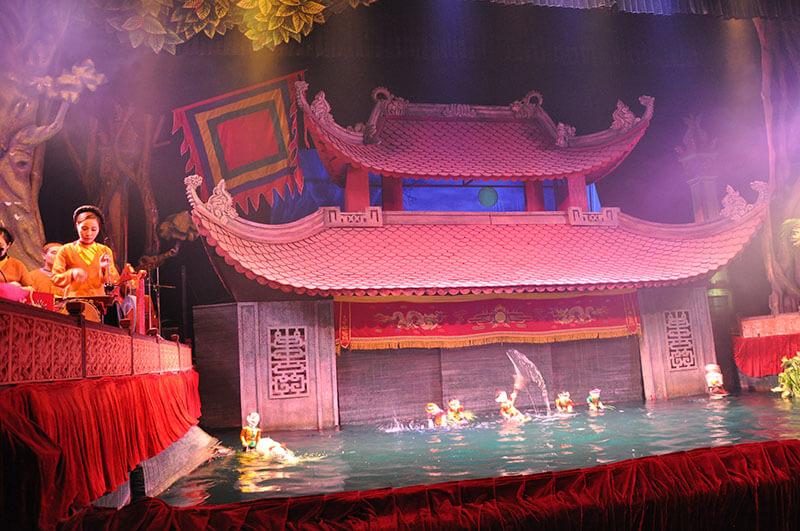 Water Puppet Show - Hanoi Wietnam