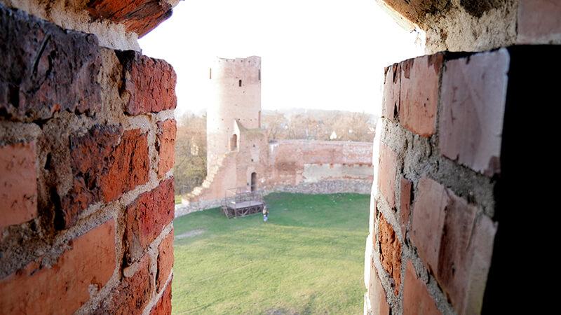 Ruiny Zamku w Czersku - wycieczka