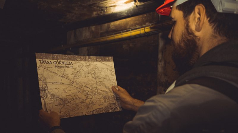 trasa górnicza w wieliczce