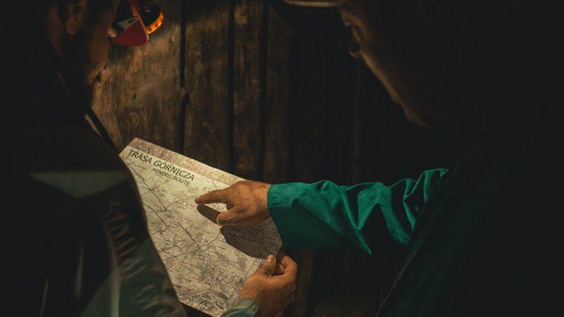 trasa górnicza mapa