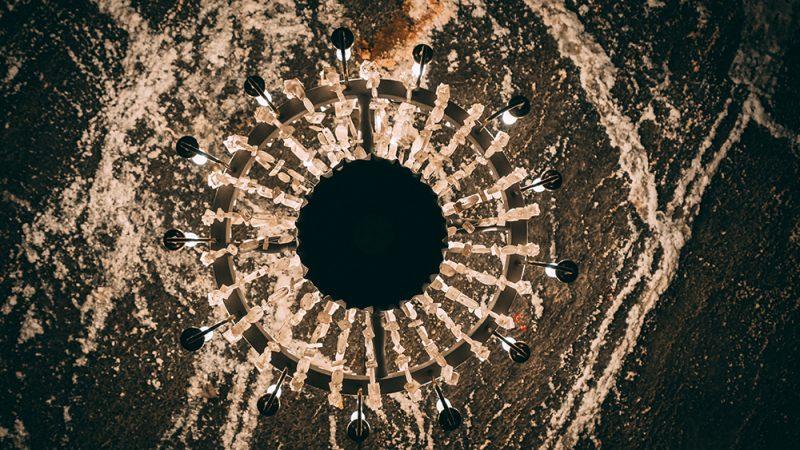 Żyrandole w kopalni soli w wieliczce