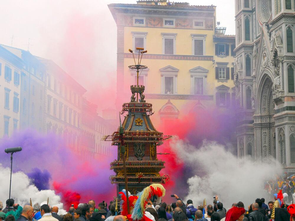 Wybuchowy wózek świąteczny - Florencja