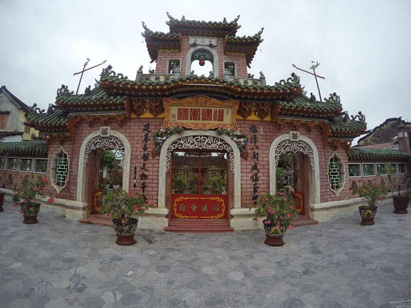 Wietnam- Hoi An świątynia