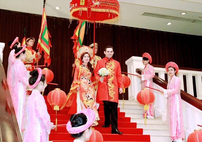Tradycyjny Wietnamski ślub