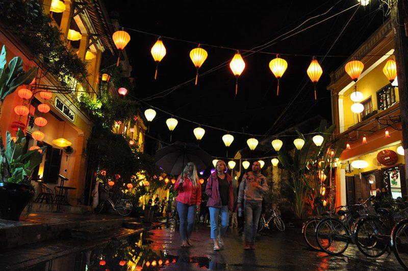 Hoi An nocą - Wietnam