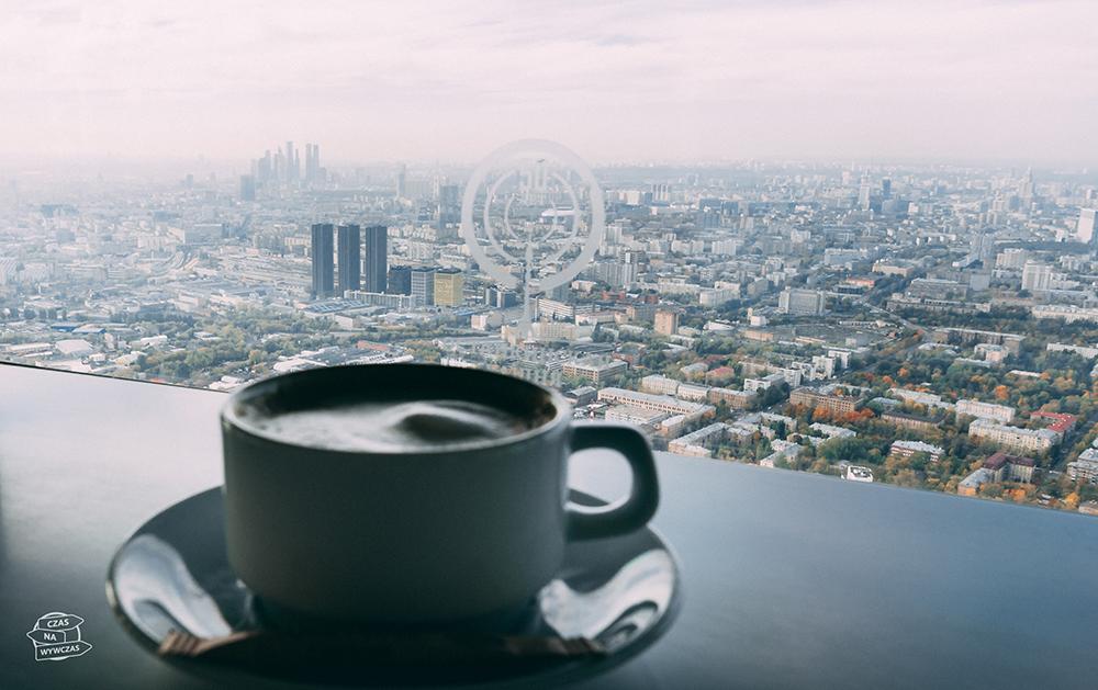 Kawa w wiezy TV moskwa