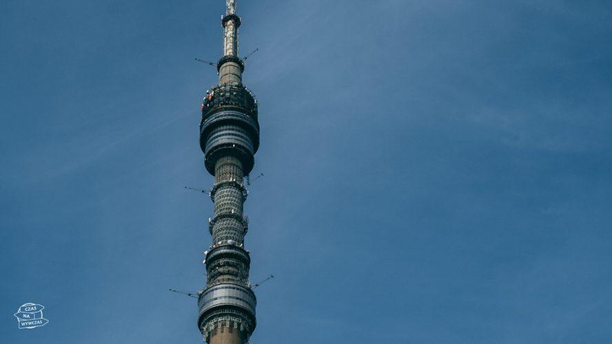 Wieża tv atrakcje Moskwy