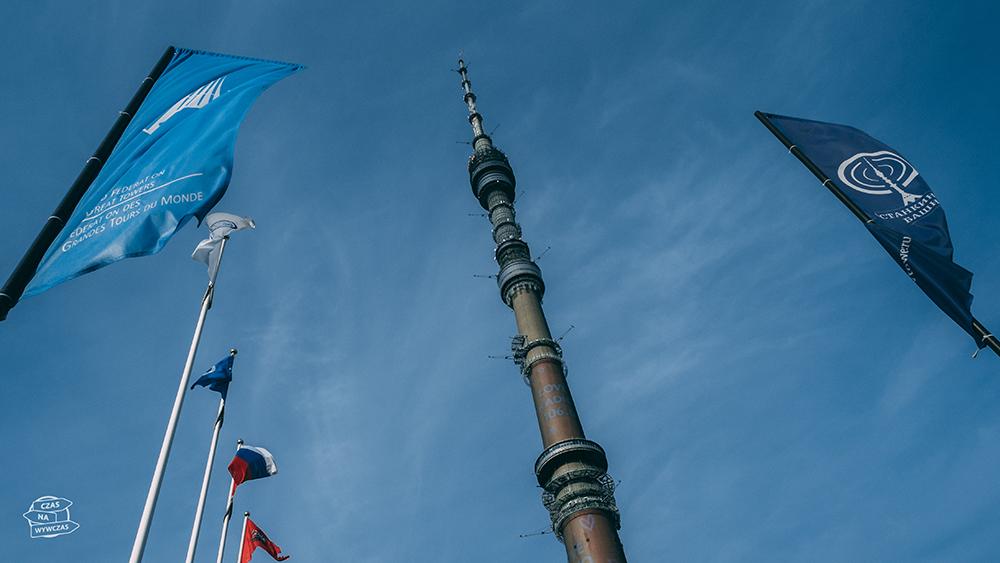 Wieża TV w Moskwie