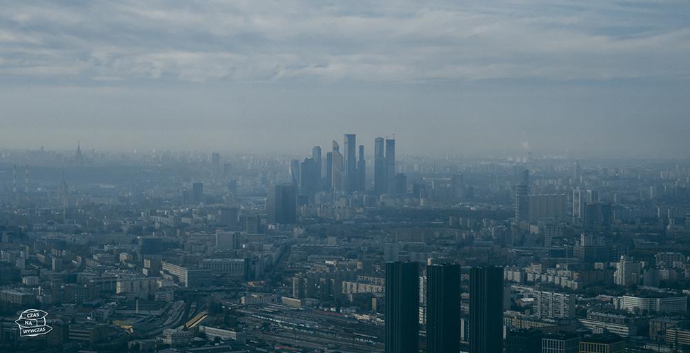 Moskwa nietypowe atrakcje wieża tv