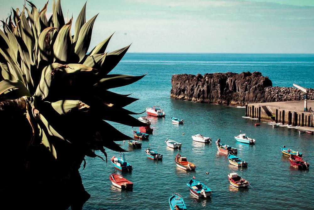 Wioska rybacka na Maderze