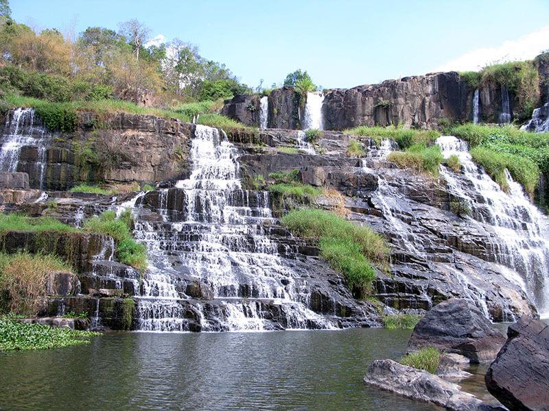 Wodospad Pongour - Wietnam