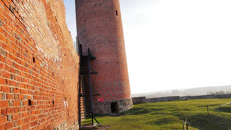 Ruiny zamku Czersk