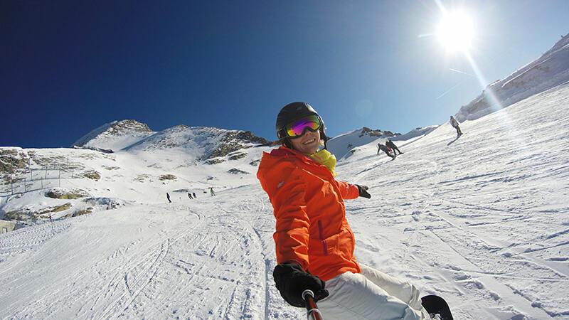 wyjazd na snowboard Austria kaprun kitzsteinhorn