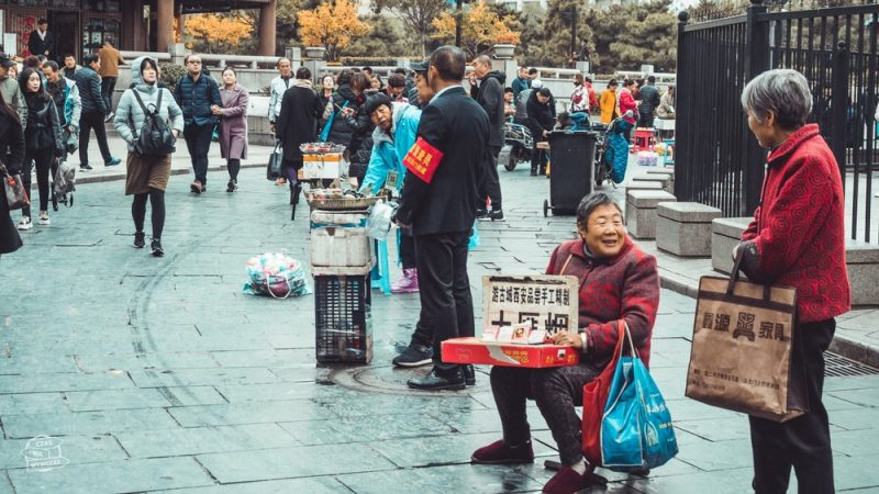 ulice miasta Xian