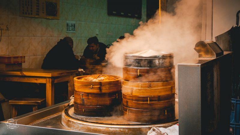 chińskie pierogi na parze- xian