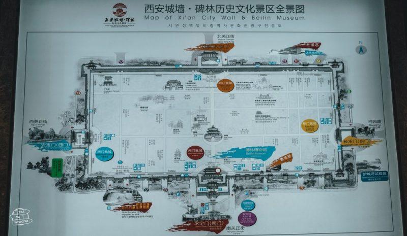 Xi-an - plan muru