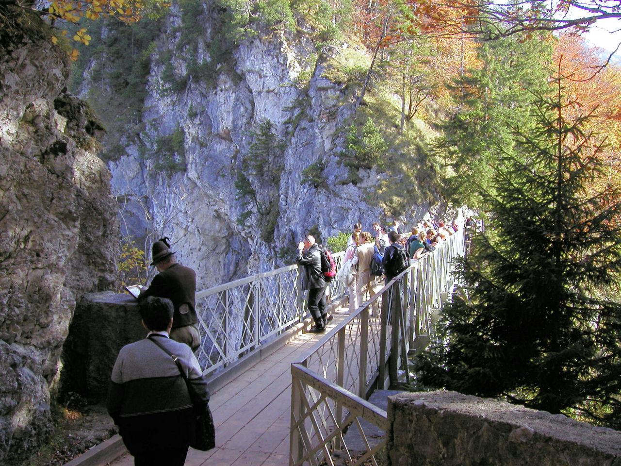 Zamek Neuschwanstein-most