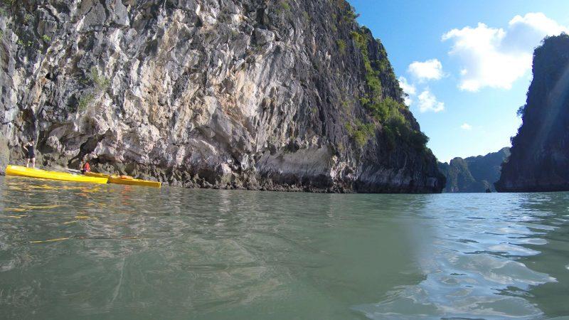 Zatoka Ha Long - dzika plaża